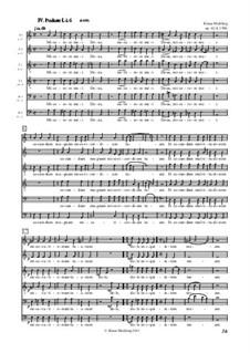 Psalmi, Op.61/1-7: IV und V Psalmi by Klaus Miehling