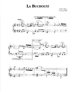 La Buchholz, H 93 Wq 117: La Buchholz by Carl Philipp Emanuel Bach