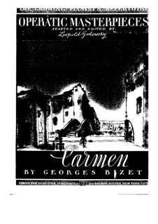 Selected Themes: For piano by Georges Bizet