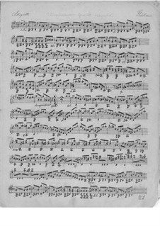 Divertissements for Guitar, Op.29: No.4, 3, 6, 7 by Mauro Giuliani