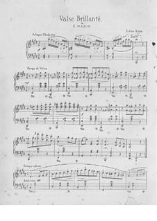 Brilliant Waltz: Brilliant Waltz by Esther Kahn