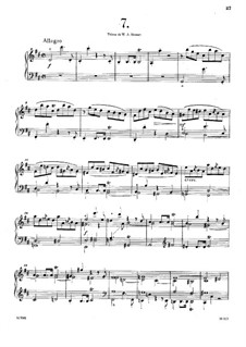 Thirty-Six Fugues, Op.36: No.7-13 by Anton Reicha