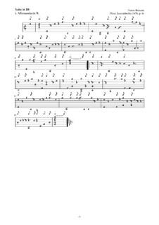 Neue Lautenfrüchte: Suite Nr.6 in Bb by Esaias Reusner