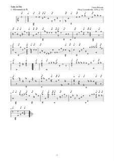 Neue Lautenfrüchte: Suite Nr.15 in Dm by Esaias Reusner