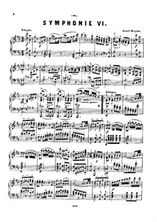 Symphony No.96 in D Major 'The Miracle', Hob.I/96: Version for piano by Joseph Haydn