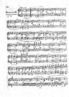 Sonatas for Piano, Op.1: Sonata No.2 by Ludwig van Beethoven
