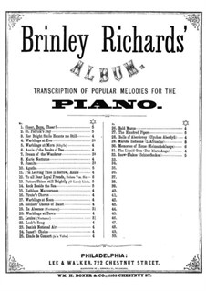 Transcription of Popular Melodies: Cheer Boys! Cheer by Brinley Richards