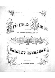 Christmas Chimes: For piano by Brinley Richards