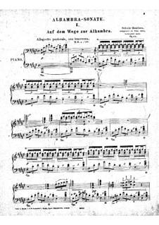 Alhambra Sonata, Op.34: Alhambra Sonata by Heinrich Schulz-Beuthen