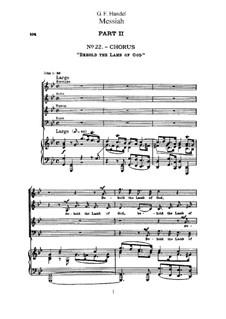 Fragments: No.22-44 by Georg Friedrich Händel
