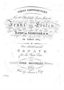 Piano Sonata, Op.27: Movements I-II by Ignaz Moscheles