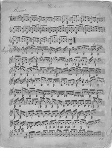 Three Rondos for Guitar, Op.17: Rondo No.1 by Mauro Giuliani