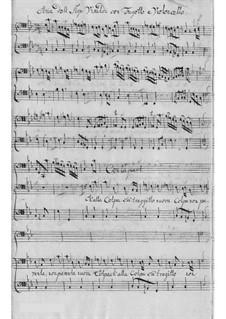 Armida, al Campo d'Egitto. Aria 'Ch'alla Colpa fa' traggitto', RV 699: Armida, al Campo d'Egitto. Aria 'Ch'alla Colpa fa' traggitto' by Antonio Vivaldi