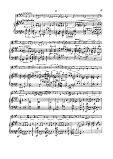 Concerto for Violin and Orchestra No.1, Op.14: Movement II, for violin and piano by Henryk Wieniawski