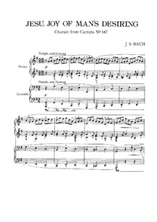 Complete set: Piano score by Johann Sebastian Bach
