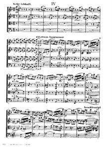 String Quartet 'Entbehren sollst du, sollst entbehren': Movement IV by Hugo Wolf