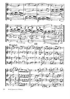 String Quartet 'Entbehren sollst du, sollst entbehren': Movement III by Hugo Wolf