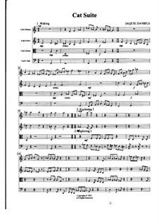 Cat Suite, Op.1: Cat Suite by Jaquie Daniels