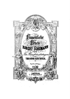 Woman's Love and Life, Op.42: For piano by Robert Schumann