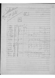 Scènes nouvelles for Opera 'Le médecin malgré lui' by Gounod: Scènes nouvelles for Opera 'Le médecin malgré lui' by Gounod by Erik Satie