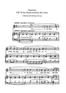 Twelve Songs: Twelve Songs by Jules Massenet
