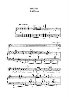 Nine Songs: Nine Songs by Jules Massenet