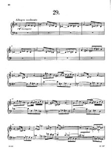 Thirty-Six Fugues, Op.36: No.29-32 by Anton Reicha