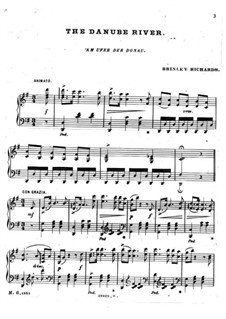 The Danube River: For piano by Charles Hamilton Aide