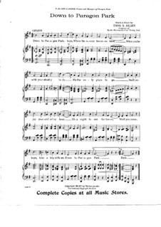 Two Songs: Two Songs by Thos. S. Allen