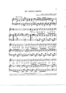 My Irish Caruso: My Irish Caruso by Thos. S. Allen