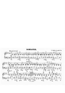Romance for Piano, Op.95 No.3: Romance for Piano by Louis Köhler