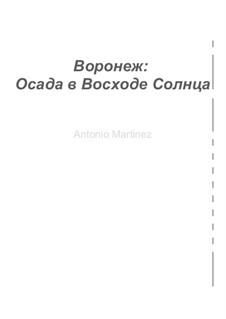 Voronezh: The Siege at Sunrise, Op.4 No.3: Voronezh: The Siege at Sunrise by Antonio Martinez