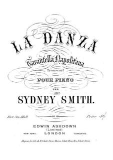 Transcription on 'Tarantella Napolitana' by Rossini, Op.104: Transcription on 'Tarantella Napolitana' by Rossini by Sydney Smith