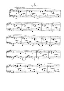 Four Ballades, Op.10: Ballade No.4 by Johannes Brahms