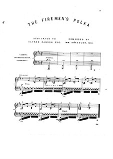 The Firemen's Polka, Op.11: The Firemen's Polka by William Dressler