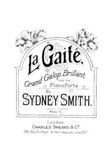 La gaité, Op.9: La gaité by Sydney Smith
