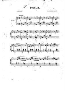Podolia, Op.107: Podolia by Joseph Ascher