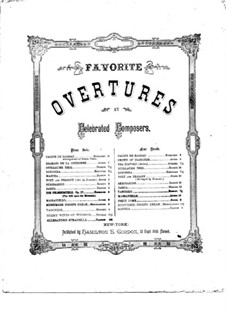 Overture: For piano by Daniel Auber