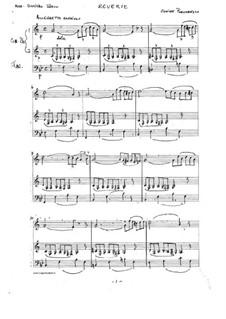 Reverie. Trio: Reverie. Trio by Ciprian Porumbescu