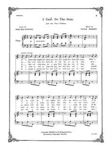 I Can't Do the Sum: I Can't Do the Sum by Victor Herbert