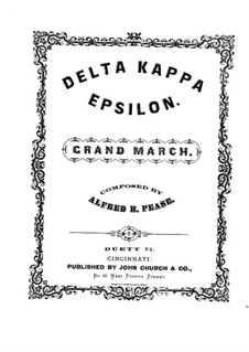 Delta Kappa Epsilon: Delta Kappa Epsilon by Alfred Humphries Pease