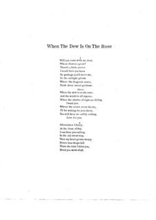 When the Dew is on the Rose: When the Dew is on the Rose by Anita Owen