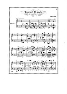 Funeral March in B Flat Minor: Funeral March in B Flat Minor by John Knowles Paine