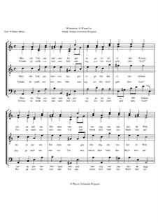 Winterreise, Op.23: Nr.6 Wasserflut by Werner Schneider-Wiegand