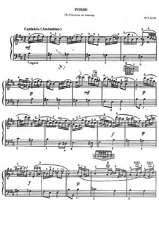 Sonata for Keyboard in B Minor: Rondo by Carl Philipp Emanuel Bach