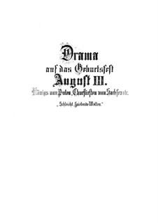 Schleicht, spielende Wellen, BWV 206: Schleicht, spielende Wellen by Johann Sebastian Bach