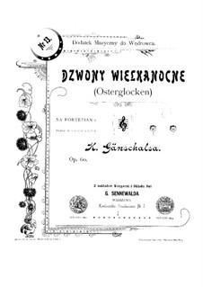 Three Pieces, Op.60, 270, 227: Three Pieces by Ernesto Becucci, Wojciech Osmanski, Carl Gänschals
