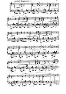 Sonata for Piano No.1 in E Major, Op.12: Movements II-V by Anton Rubinstein