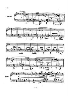 Sonata for Piano No.2 in C Minor, Op.20: Movement II by Anton Rubinstein
