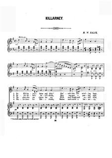 Killarney: Piano-vocal score by Michael William Balfe